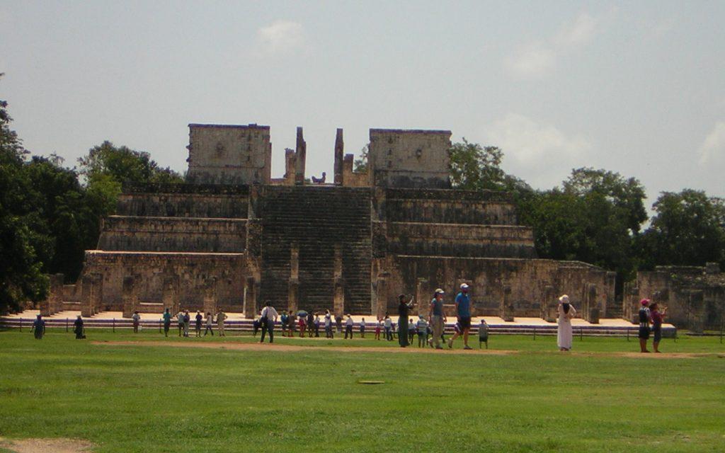 Templo de Los Guerreros de Chichen Itza