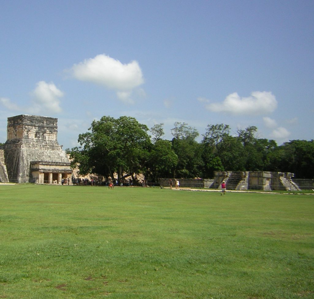 Templo de los Jaguares de Chichen Itza