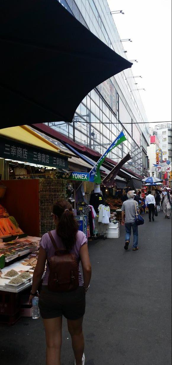 Mercado de Ueno en Tokio