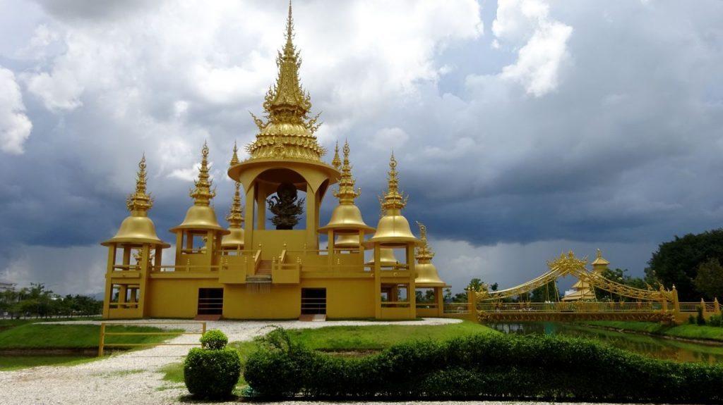 Templo Dorado dentro del Complejo del Templo Blanco