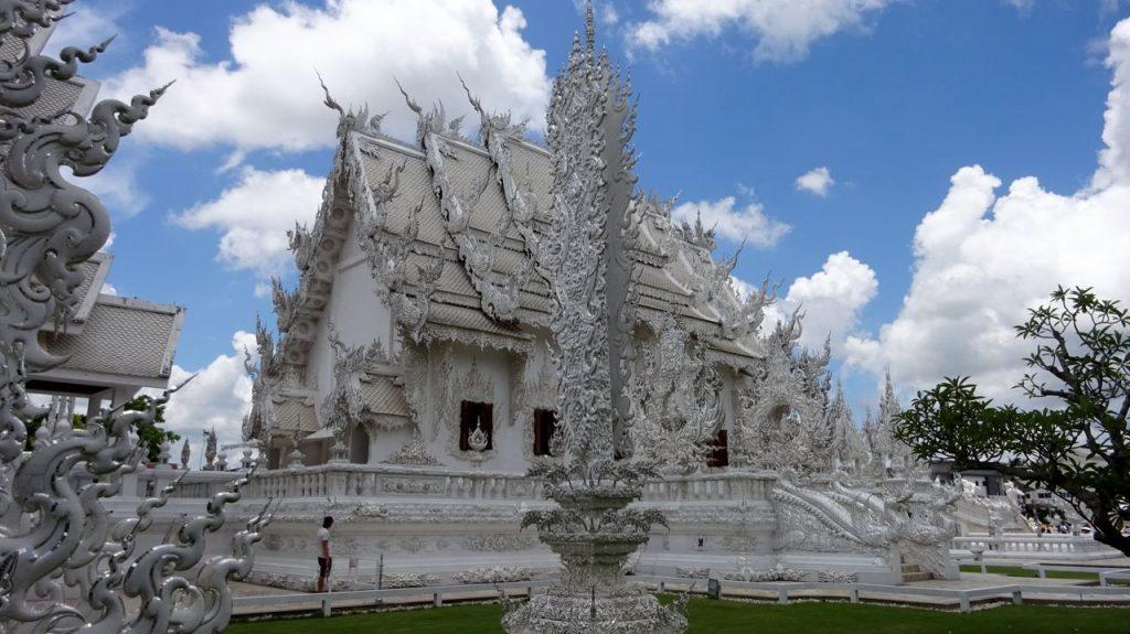 Parte trasera del Templo Blanco