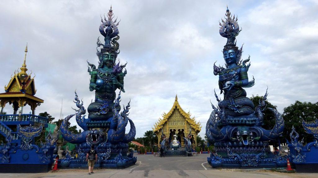 foto templo azul