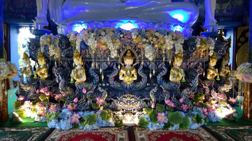 foto templo azul - Chiang Rai