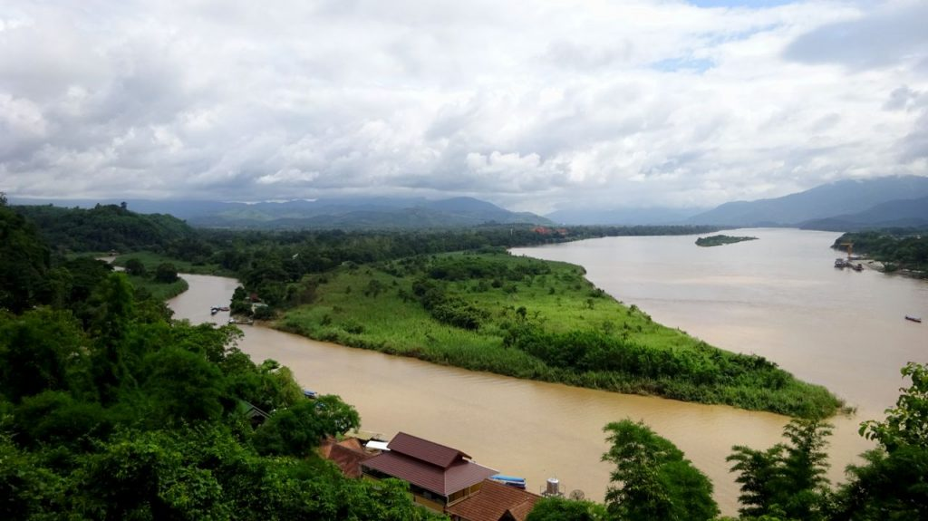 foto triángulo de oro - Chiang Rai