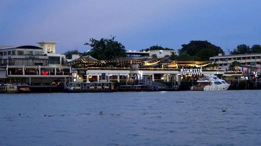 foto Río Chao Prhaya - Bangkok