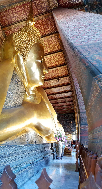 Wat Pho Buda Reclinado Bangkok