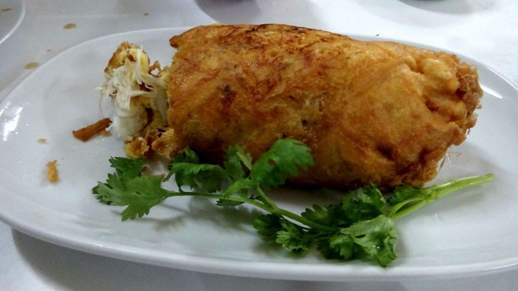 Famoso plato cocinado por Jay Fai