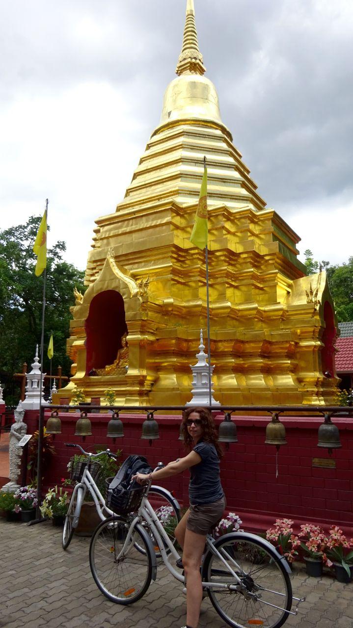 Visitando Chiang Mai en bici