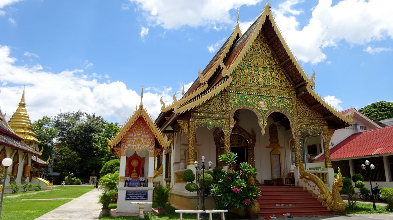 Templo de Chiang Mai Tailandia