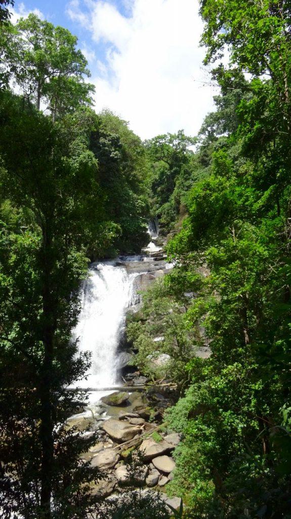 Cascada Sirithan del Parque Nacional Doi Inthanon
