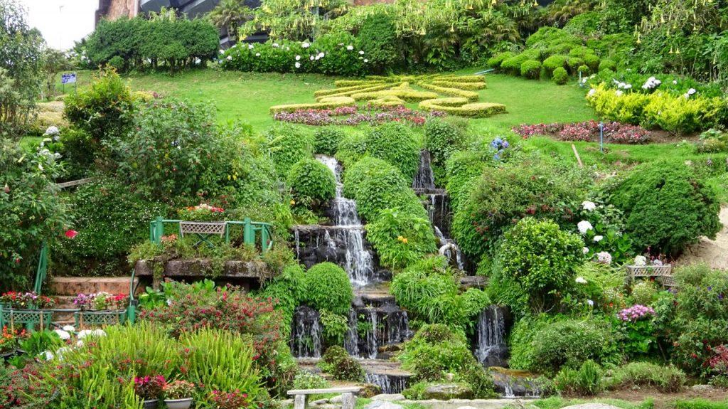 Jardines del Parque Nacional Doi Inthanon