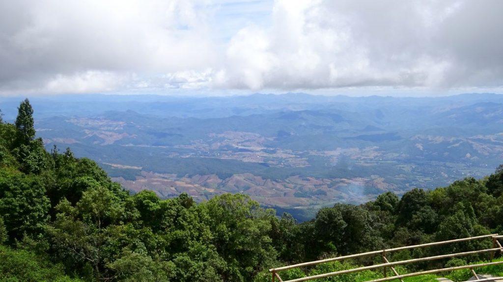 Vista desde la cima del Parque de Doi Inthanon
