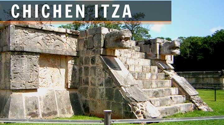 foto de chichen itza riviera maya