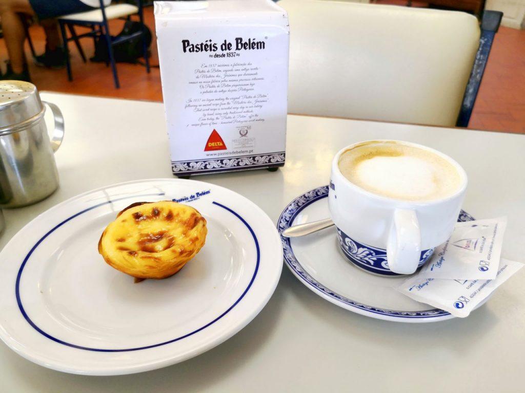 Pastel de Belem en la Pastelería de Belém