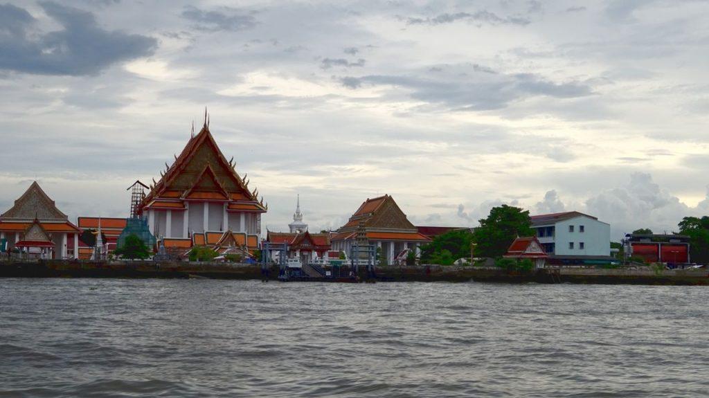 Riverside Río Chao Phraya Bangkok