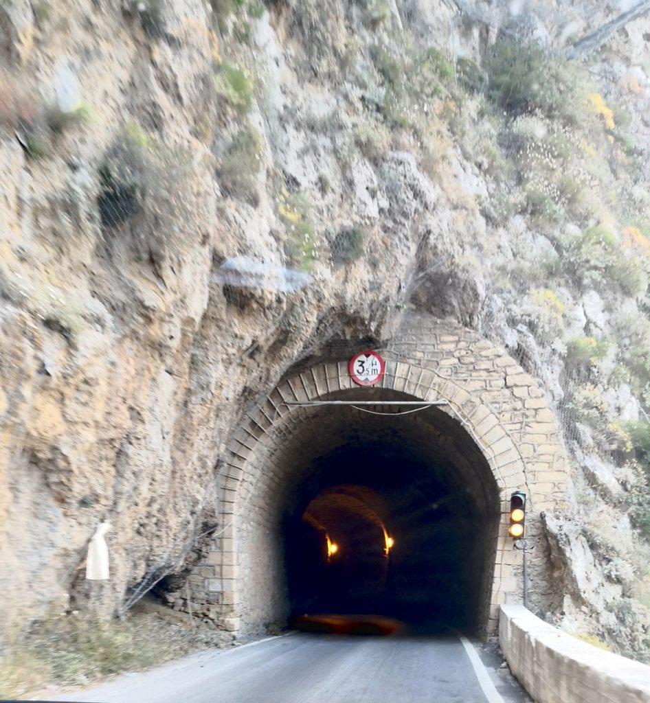Carretera para llegar a Elafonisi