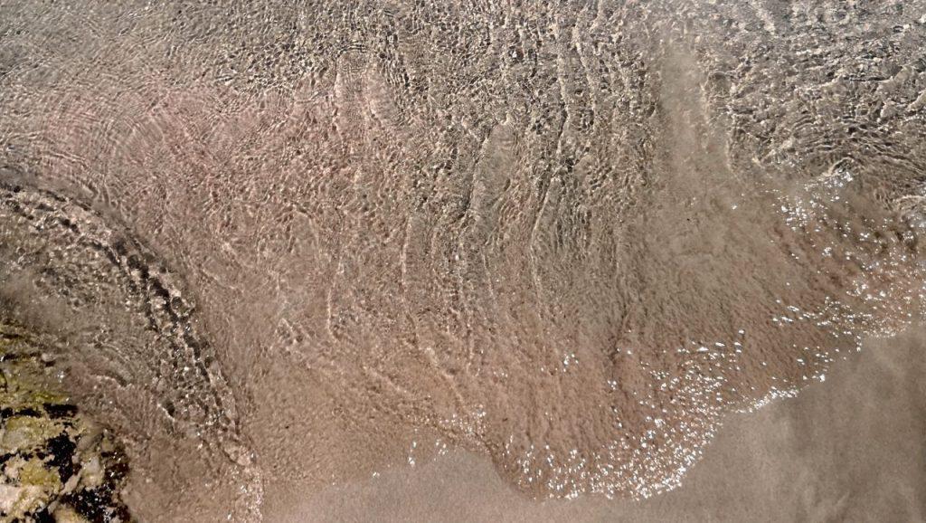 Orilla playa Elafonisi