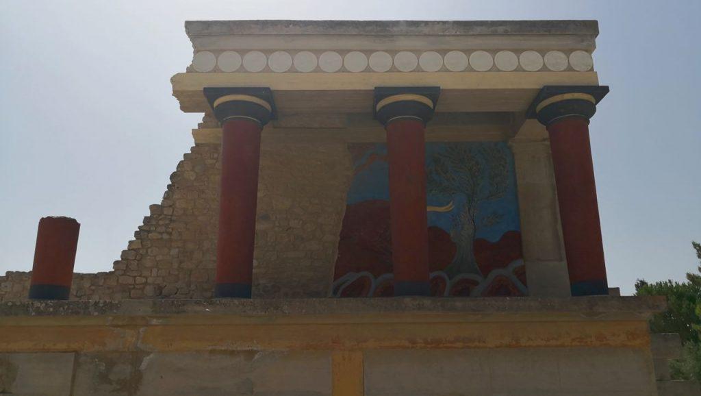 Palacio de Knossos Heraklion Creta